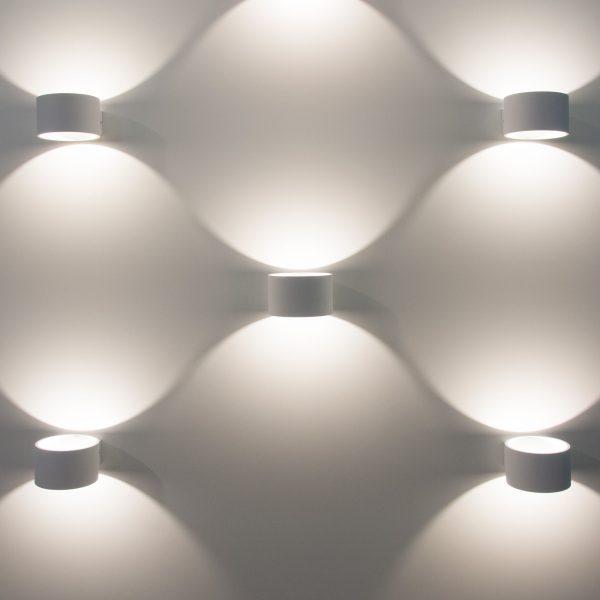 Coneto LED белый Настенный светодиодный светильник MRL LED 1045 2
