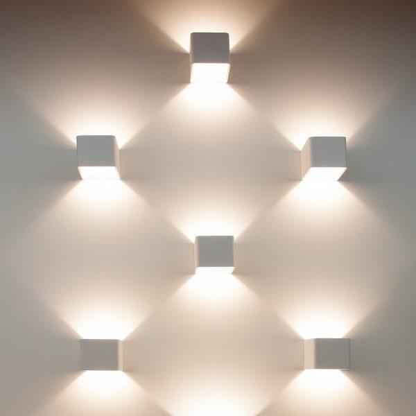 Corudo LED белый Настенный светодиодный светильник MRL LED 1060 3