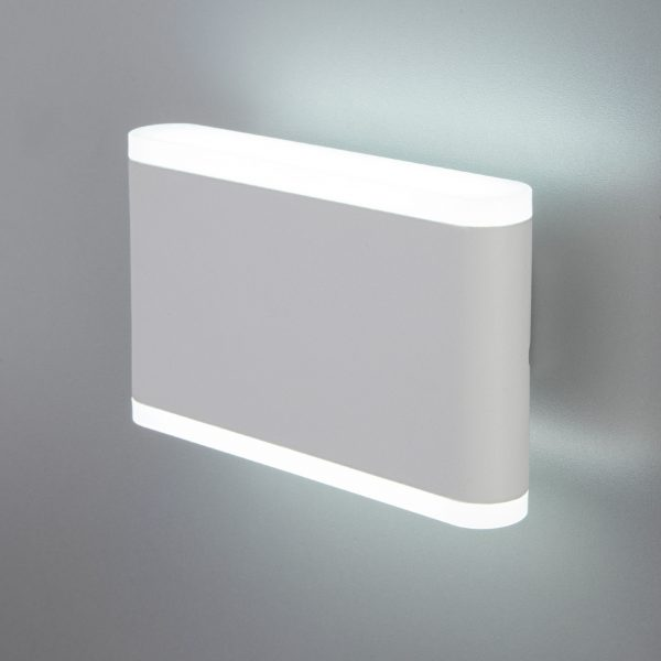 COVER белый уличный настенный светодиодный светильник 1505 TECHNO LED 1