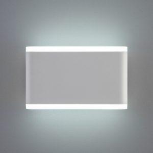COVER белый уличный настенный светодиодный светильник 1505 TECHNO LED