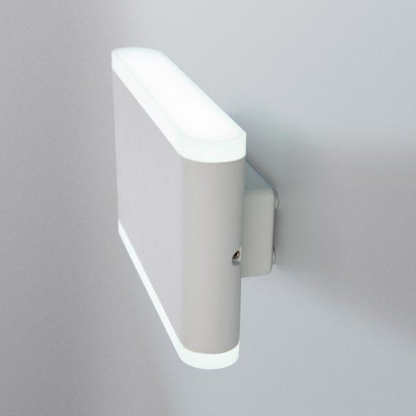 COVER белый уличный настенный светодиодный светильник 1505 TECHNO LED 2