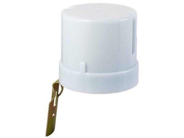 Датчик освещенности 5500W IP44 Белый SNS-L-07 фотореле