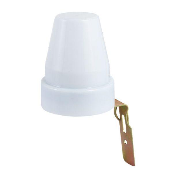 Датчик освещенности 2200W IP44 Белый SNS-L-08 фотореле