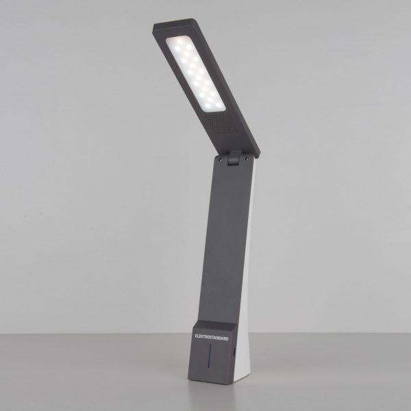 Настольный светодиодный светильник Desk белый/серый TL90450 3