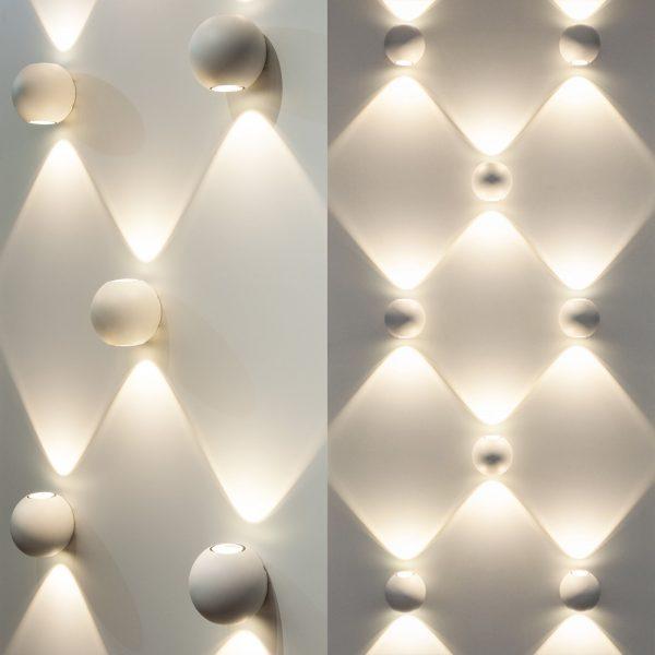 DIVER серый уличный настенный светодиодный светильник 1566 TECHNO LED 1