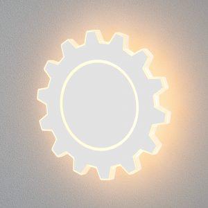 Gear L LED белый Настенный светодиодный светильник MRL LED 1100
