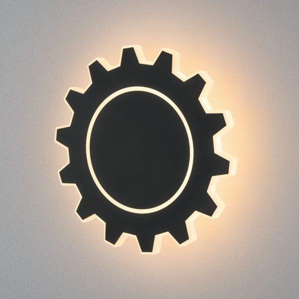 Gear L LED черный Настенный светодиодный светильник MRL LED 1100 4