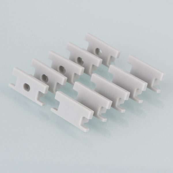 Комплект заглушек для встраиваемого напольного алюминиевого профиля светодиодной ленты (10 пар) ZLL-2-ALP002