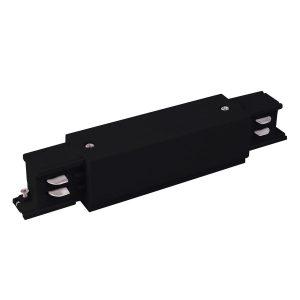 Коннектор прямой для трехфазного шинопровода черный TRC-1-3-I-BK