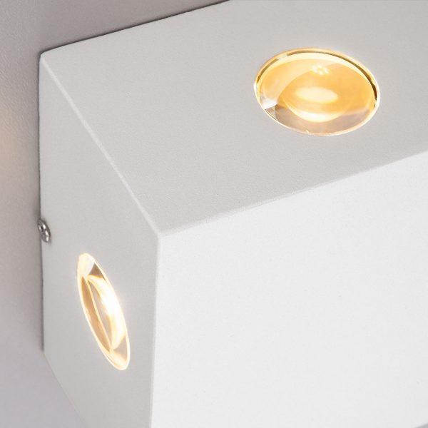 Kvatra белый уличный настенный светодиодный светильник 1601 TECHNO LED 2