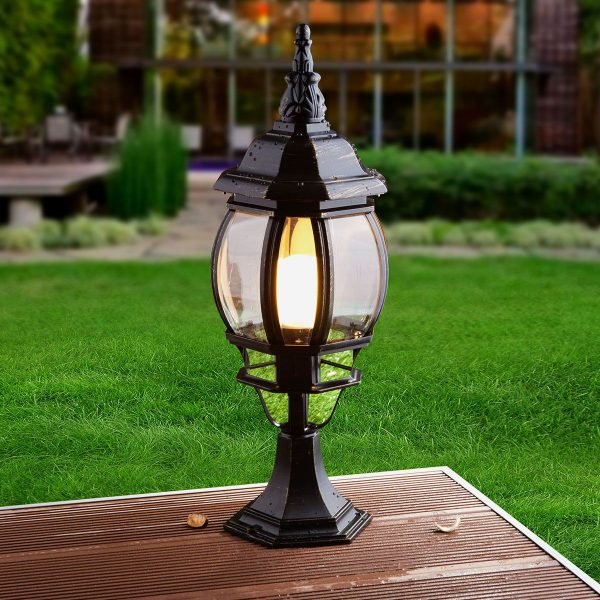 Ландшафтный светильник GL 1001S черное золото 1