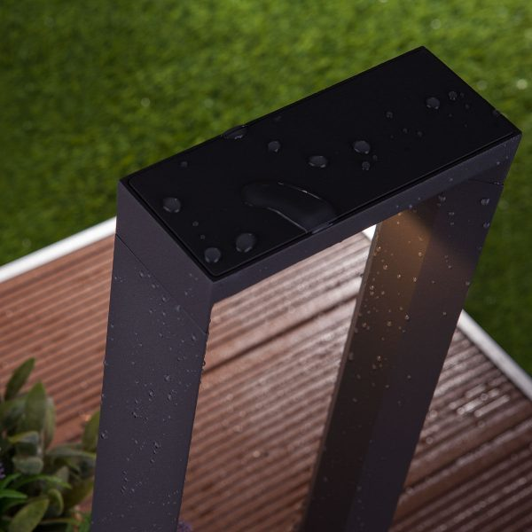 Astar F графит ландшафтный светильник TECHNO 1612 LED 4