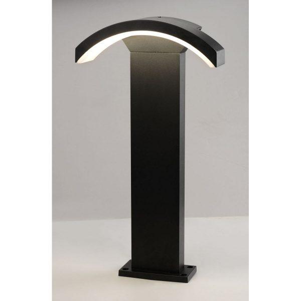 Asteria F черный ландшафтный светильник TECHNO 1677 LED 1