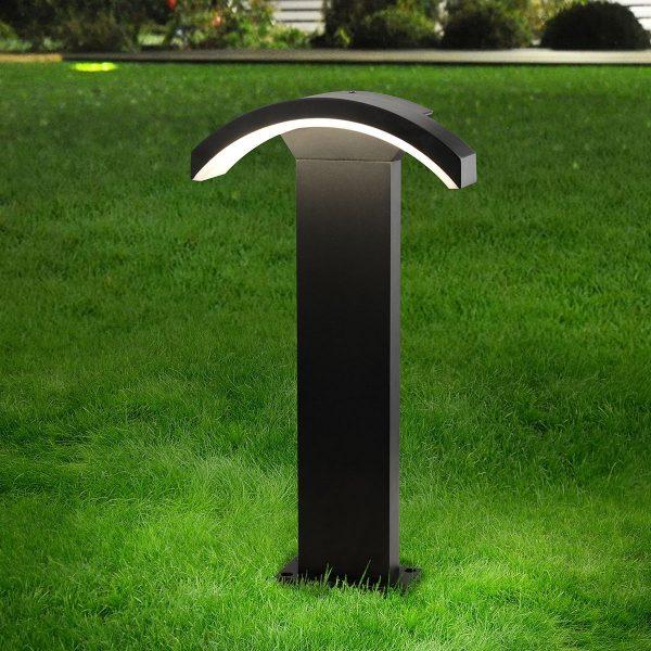 Asteria F черный ландшафтный светильник TECHNO 1677 LED