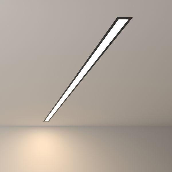 Линейный встраиваемый светодиодный светильник нейтральный свет свет
