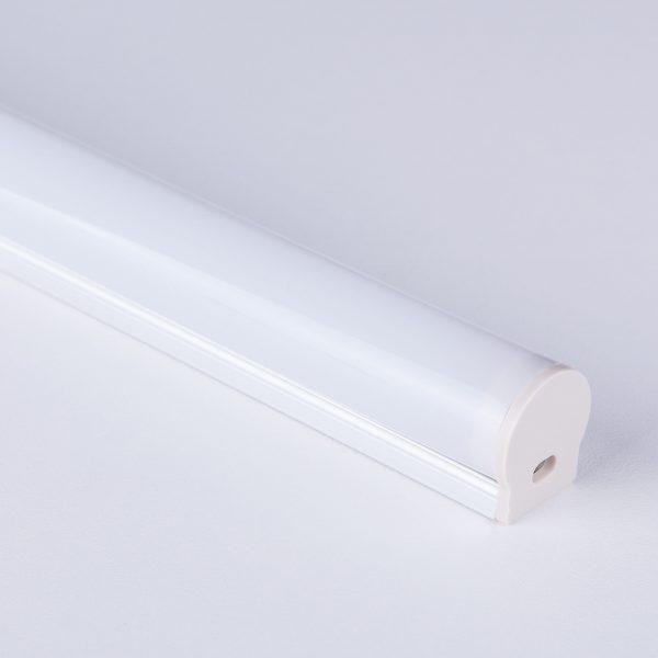 Накладной алюминиевый профиль для светодиодной ленты LL-2-ALP010 3