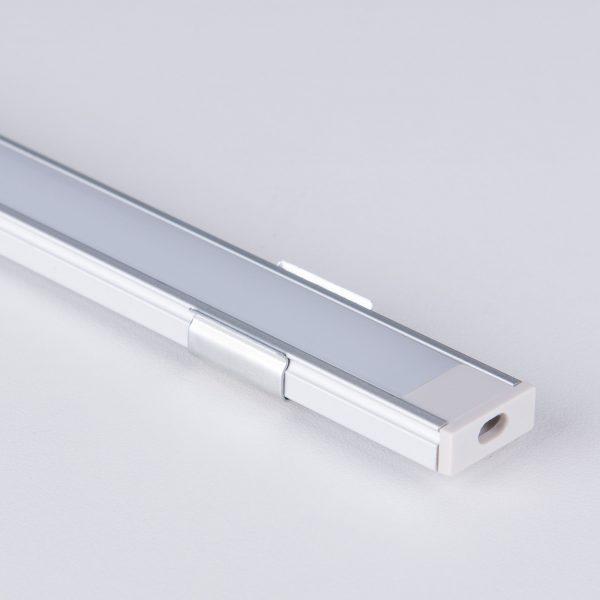 Накладной алюминиевый профиль для светодиодной ленты LL-2-ALP006 4