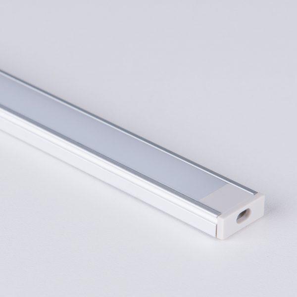 Накладной алюминиевый профиль для светодиодной ленты LL-2-ALP006 3