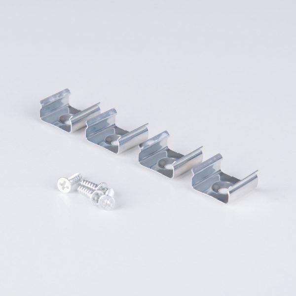 Накладной алюминиевый профиль для светодиодной ленты LL-2-ALP006 5
