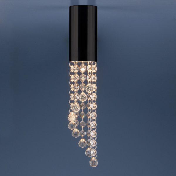 Накладной потолочный светильник 1083 GU10 BK черный 1