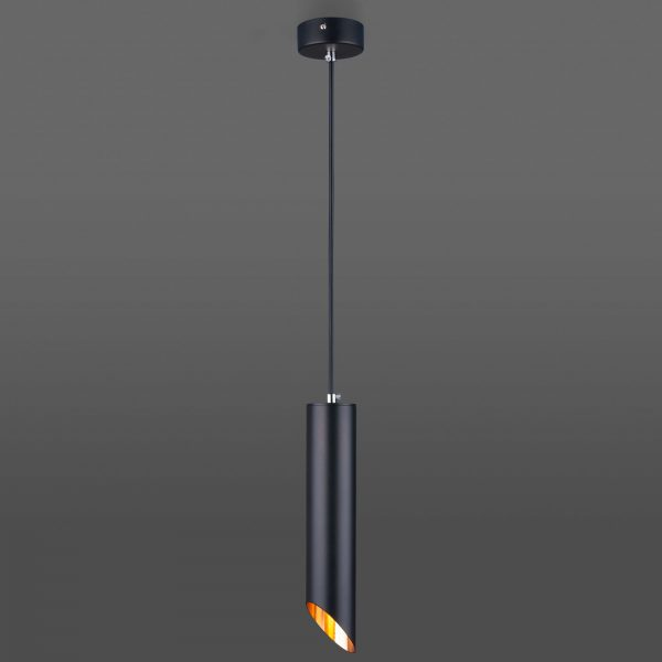 Накладной потолочный светильник 7011 MR16 BK/GD черный/золото 3