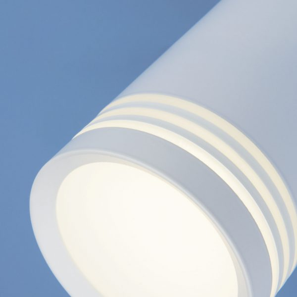 Накладной потолочный светодиодный светильник DLR032 6W 4200K 3200 белый 1