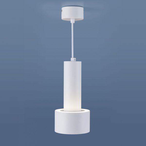 Накладной потолочный  светодиодный светильник DLR033 9W 4200K 3300 белый/хром 2