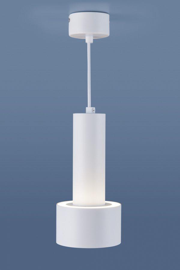 Накладной потолочный  светодиодный светильник DLR033 9W 4200K 3300 белый/хром 4