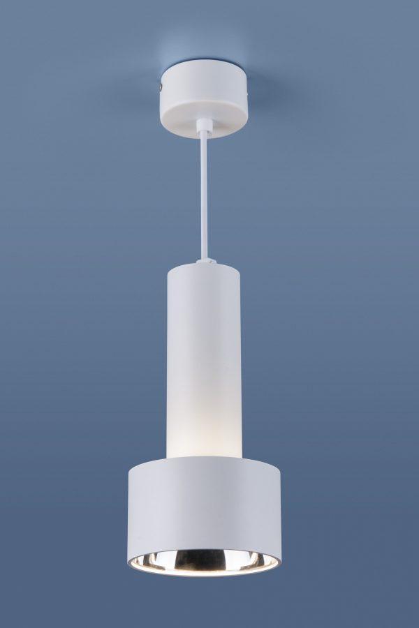 Накладной потолочный  светодиодный светильник DLR033 9W 4200K 3300 белый/хром 5