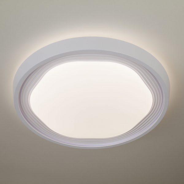 Накладной светодиодный светильник 40005/1 LED белый 3
