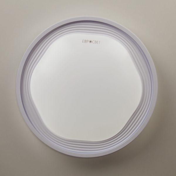 Накладной светодиодный светильник 40005/1 LED белый 4