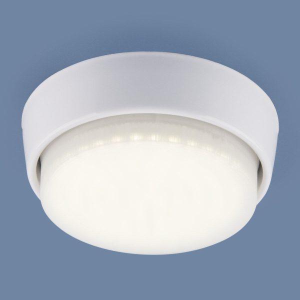 Накладной точечный светильник 1037 GX53 WH белый