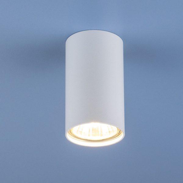 Накладной точечный светильник 1081 (5255) GU10 WH белый
