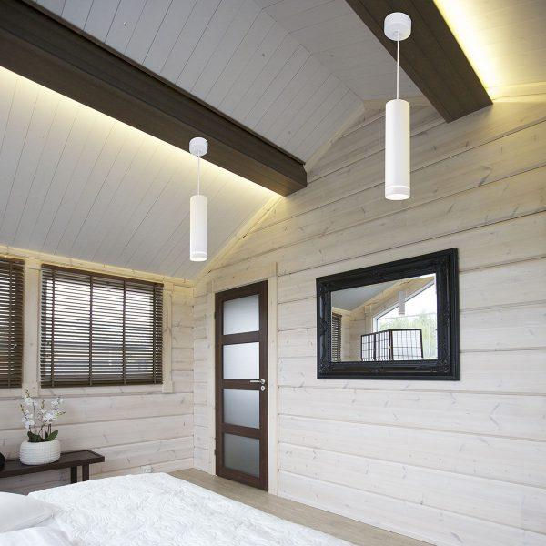 Накладной потолочный светодиодный светильник DLR023 12W 4200K белый матовый 1