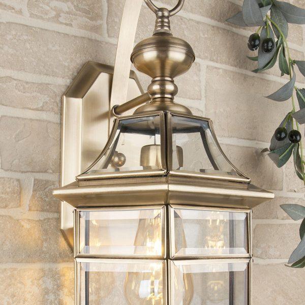 Уличный настенный светильник 1031 Savoie D медь 1