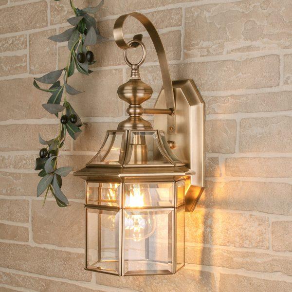 уличный настенный светильник 1031 Savoie D медь
