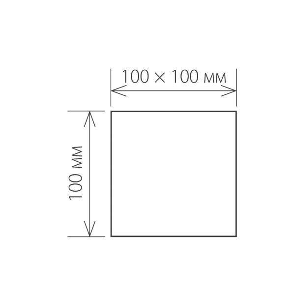 WINNER белый уличный настенный светодиодный светильник 1548 TECHNO LED 5