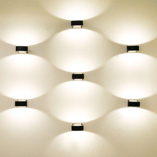 BLINC серый уличный настенный светодиодный светильник 1549 TECHNO LED 4