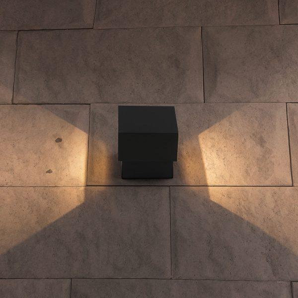 FOBOS графит уличный светодиодный светильник с поворотным механизмом 1607 TECHNO LED 4