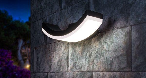 Asretia U уличный настенный светодиодный светильник 1672 TECHNO LED