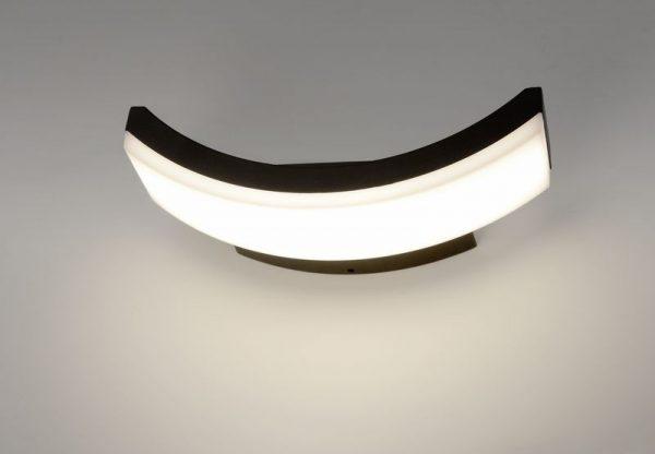 Asretia U уличный настенный светодиодный светильник 1672 TECHNO LED 1