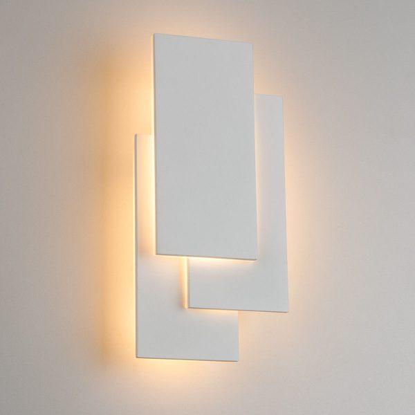 Inside LED белый матовый настенный светодиодный светильник MRL LED 12W 1012 IP20 1
