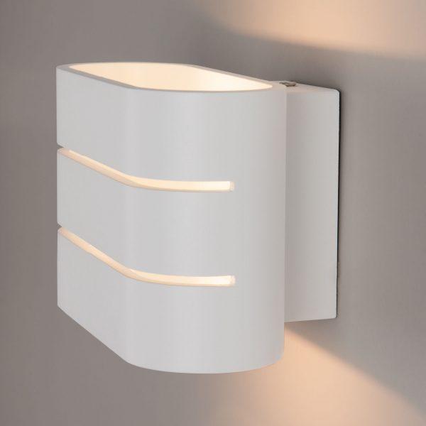 Light Line белый Настенный светодиодный светильник MRL LED 1248 1