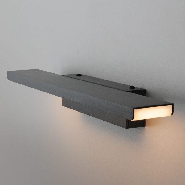Sankara LED черная Настенный светодиодный светильник MRL LED 16W 1009 IP20 1