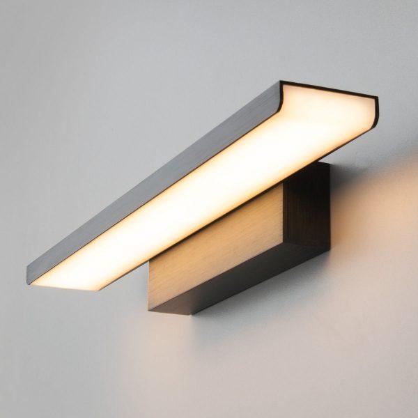 Sankara LED черная Настенный светодиодный светильник MRL LED 16W 1009 IP20 2