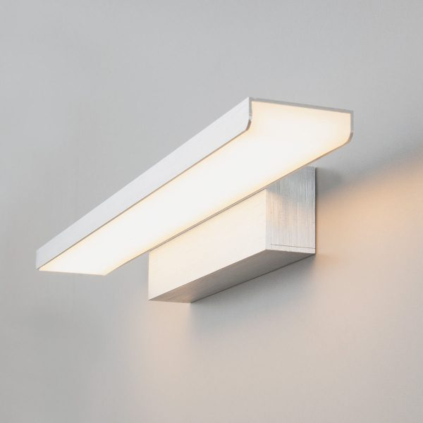 Sankara LED серебристая Настенный светодиодный светильник MRL LED 16W 1009 IP20 1