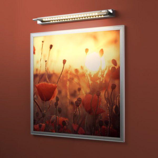 Twist хром Настенный светодиодный светильник 2105 HN14 2