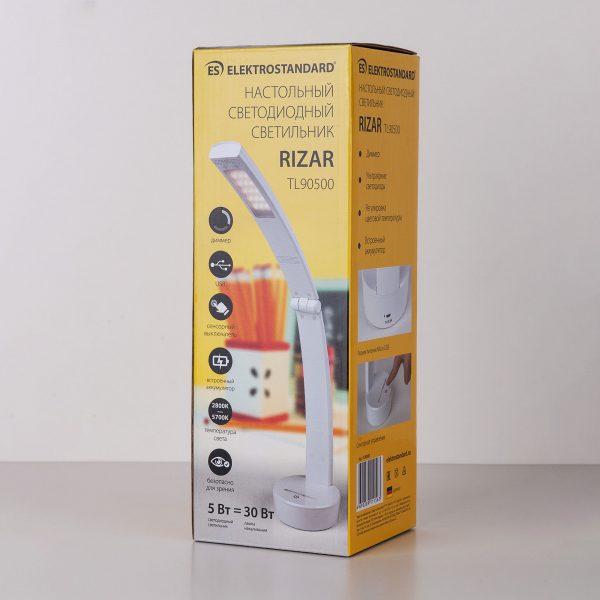 Настольный светодиодный светильник Rizar белый TL90500 5