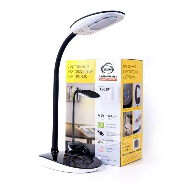 Настольный светодиодный светильник TL90191 черный TL90191 1