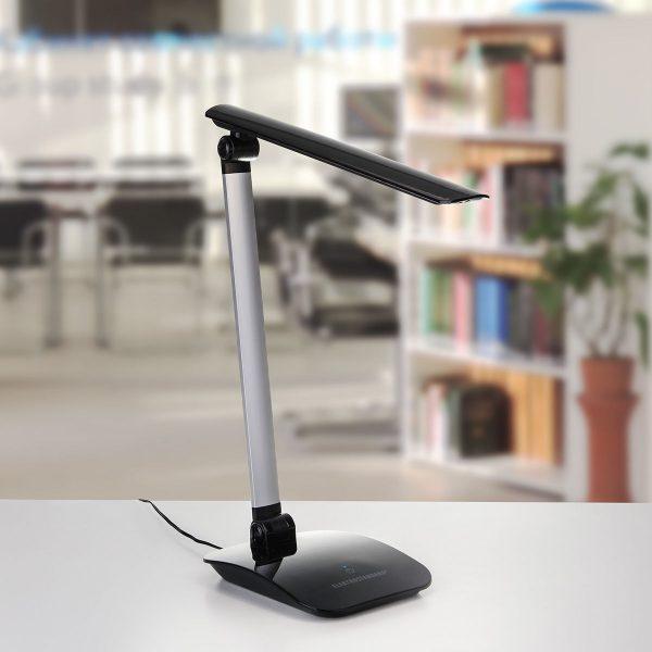 Настольный светодиодный светильник TL90193 черный/серебряный TL90193 7